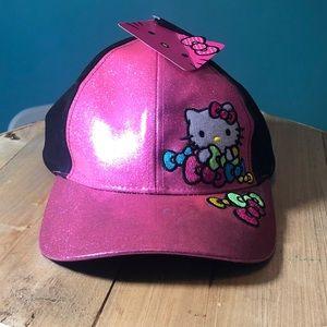 NWT hello kitty baseball hat